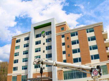 Asheville Hotel Construction